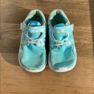 Nike little girl size 10 sneakers